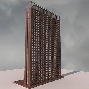 modern build 06 3d model
