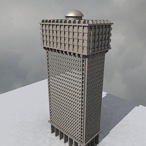 3d modern build 10 model