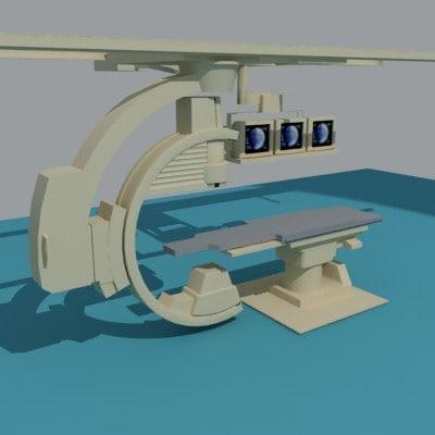 medical c-arm 3d 3ds