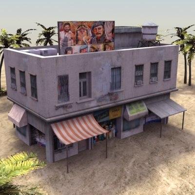 3d building souk medina