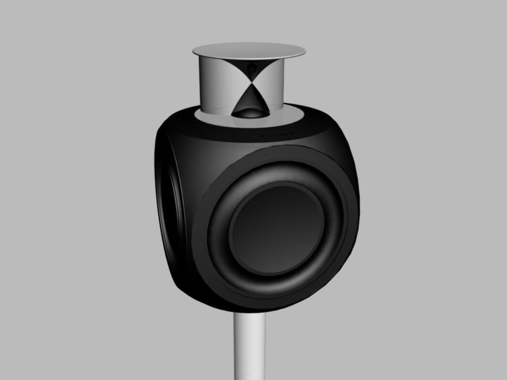 3d model loudspeaker beolab 3