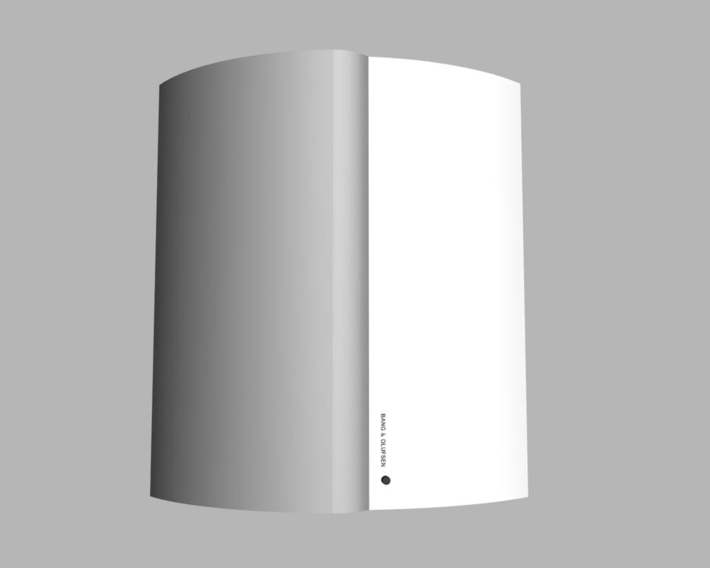 loudspeaker beolab 4000 3d max