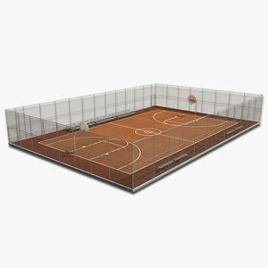 max outdoor basketball court