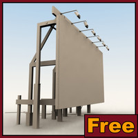 3d definition billboard model