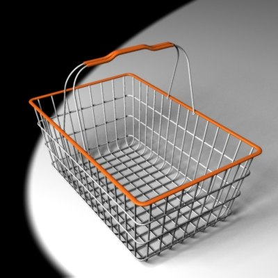 basket shopping 3ds