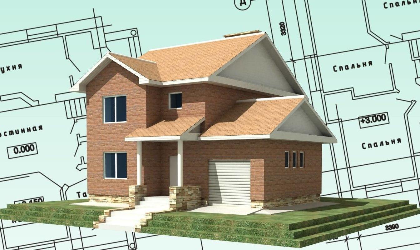 free constructions cork house 3d model