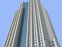 3dsmax shanghai skyscraper 3 building