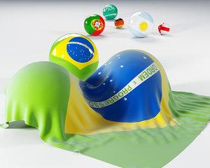 balls 3d model
