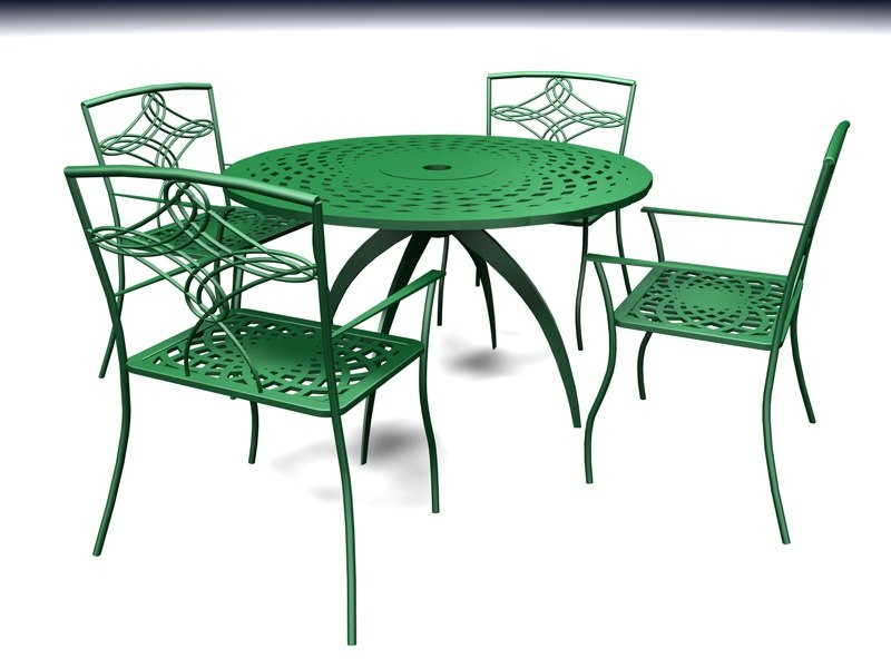 outdoor patio furniture 3d model