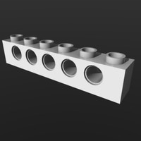 3d lego brick