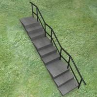 3d model railing