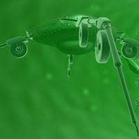 nanobot sci fi 3d model