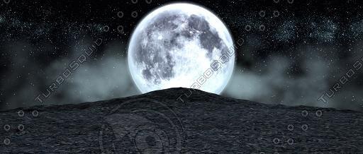 3d model moon cliff aced 1