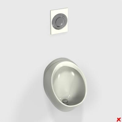 urinal 3d 3ds