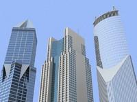 3 skyscrapers (shanghai)