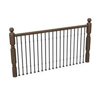 railing balustrade 3ds