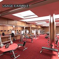 Fitness Center 1503(3ds)