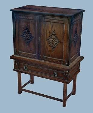max antique cabinet