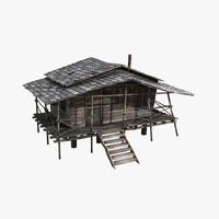 Wood Hut