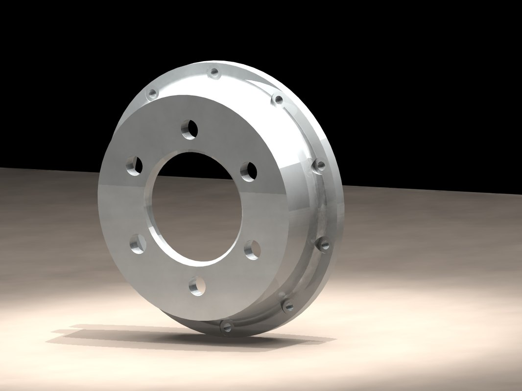 3ds max disc bell