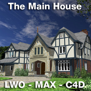 main house 3ds