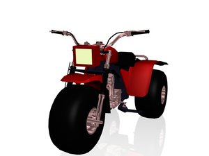 motorcycle sport 3d model