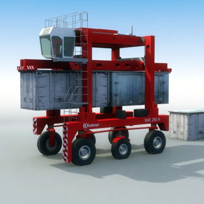 shuttle carrier industrial 3d lwo