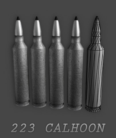 free max model 223 calhoon
