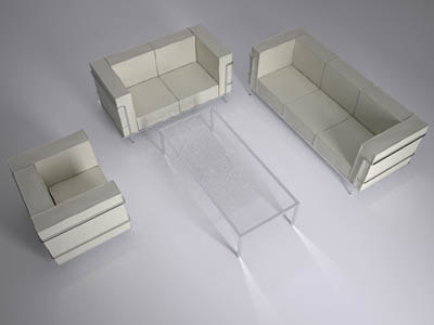 3ds max sofas table