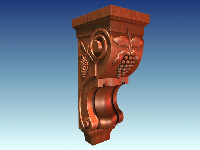 maya architectural corbel