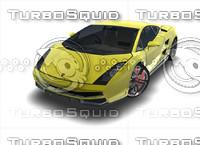 3d galardo cars sport model