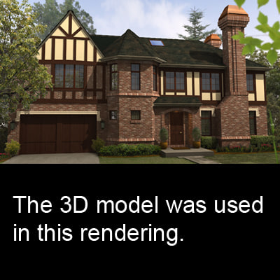 3d model family 0005 building structure