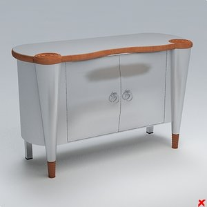 sideboard cabinet 3d max