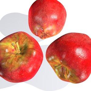 apple 3 3d model