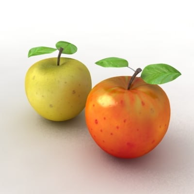 3ds max apples