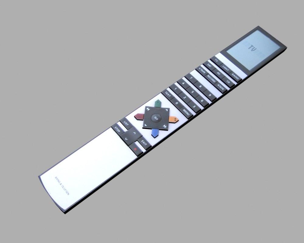 3d max remote control beo4