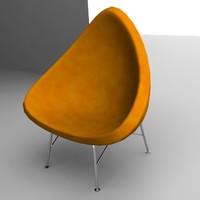 3dsmax armchair