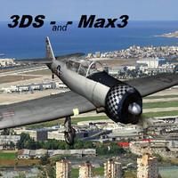 Harvard_Texan_3DS-Max3.zip