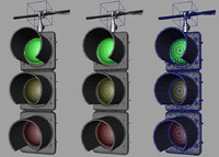 City Props: Traffic Light (Rigged)