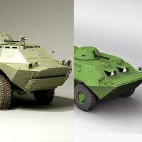Brdm- 2 & BTR-70