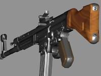 mp44 carbine 3d model