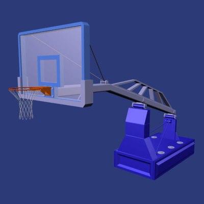 basketball net 3d model
