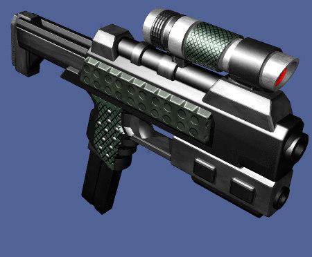 3d light smg model
