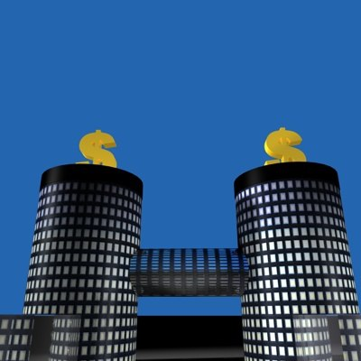 bank building c4d free