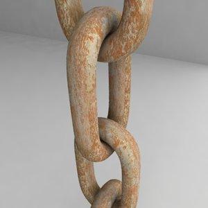 3d chain model