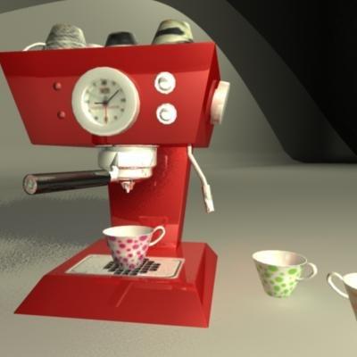 francis x5 espresso machine 3d ma