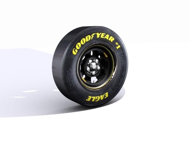 3d max nascar racing tire