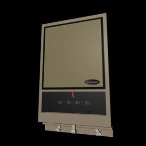 thermostat interior 3d ma