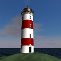lighthouse c4d