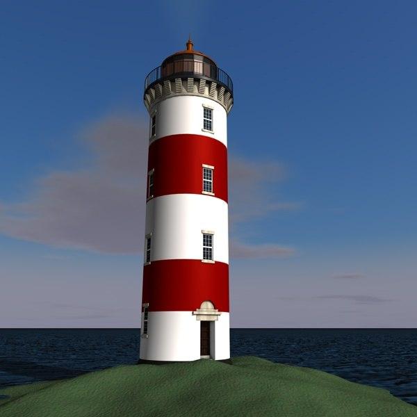 lighthouse c4d